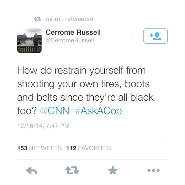 Honestly the best #AskACop tweets I've read: http://t.co/Z5Gzho2iYV