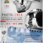 Photoliber #mostra fine laboratorio 18dic Lazzaretto #Cagliari http://t.co/3gLZ8EJcpq Ingresso gratuito #fotografia http://t.co/dKEZeEdOUl
