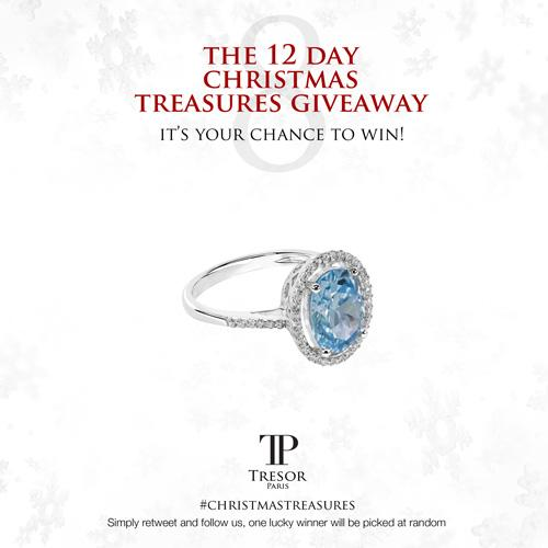 DAY 8 of our #ChristmasTreasures giveaway! FOLLOW US & RT for your chance to win this striking blue Royale ring http://t.co/0U8OjV8gwR