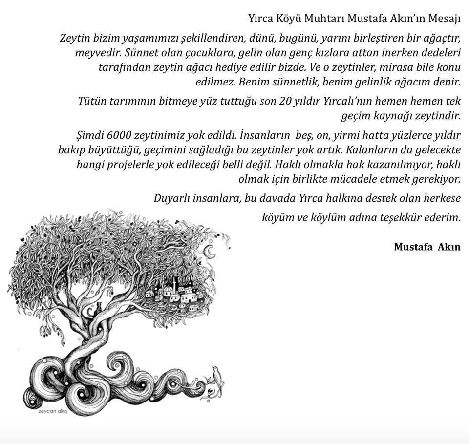 Yırca'ya yeni zeytin fidanları ekilsin! Birer Zeytin Ajandası alın. Kanyon'da 19-21 Aralık. http://t.co/xSdaURD5tA