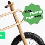 Stolen, patent pending product is Kickstarters staff pick, despite the staff is informed @kickstarter #staffpick http://t.co/qB67ecncWz