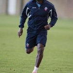 PHOTO: Emile Heskey in training at Euxton this morning. #BWFC http://t.co/4SkyBR4NIQ