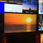 Check out the gorgeous #sunrise from Palm Beach captured by our crew there this morning! #CBS12am http://t.co/ZbcSkXF8zk