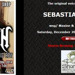 RT @DanProfitt: So my wife and I will be hanging with @sebastianbach Saturday! Fun! Maybe he will let me sing! #sebastianbach #rock http://…