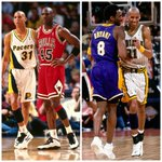 """""""Michael Jordan on his worst day is ten times better than Kobe Bryant on his best day"""" -@ReggieMillerTNT http://t.co/syezKyJ3wc"""