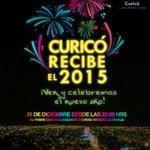 Año nuevo en #Curicó. Un espectáculo nunca antes visto en nuestra ciudad. ¡Te esperamos! http://t.co/xZYYTAzMDJ