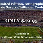 Grab a limited edition #GaleSayers @chillinder_cool bag A perfect gift 4 a special #Bears Fan http://t.co/PY8VaJG42L http://t.co/nJNIUbXZPY