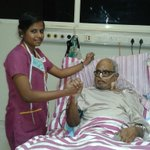 RT @galattadotcom: #KBalachandar #KB Sir latest pic from Kauvery Hospital!