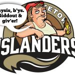 Thanks @IslandersHKY for Christmas event. After considering my rejected logos, think your real one is perfect choice. http://t.co/1OQJBUZiof