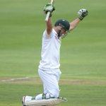 Take a bow @ABdeVilliers17! He scores his 20th Test century! Jou yster! #ProteaFire http://t.co/nNY0sED6cT