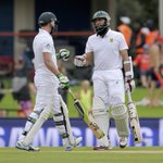Hashim Amla & AB de Villiers both make 100s for South Africa in first Test against West Indies http://t.co/3bBOfqBTbS http://t.co/DeOMgG9I6i