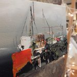"Stuff in the studio 13: Orange Tanker, 5""x10"" - http://t.co/gAeEcAm8iF"