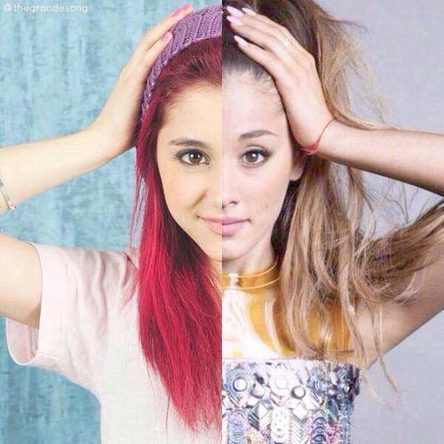 Aiso eine krasse Veränderung grade noch die kleine Cat und jetzt die erwachsene @ArianaGrande #MTVStars Ariana Grande http://t.co/YqmVldD7DQ