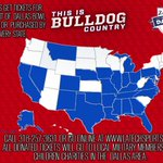 We added Maryland to our map yesterday! Time for some of the other states to start stepping up.#WeAreLATech #BowlDogs http://t.co/iG9YtFastB