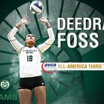 Congratulations to our ALL-AMERICAN setter Deedra Foss! #PointRams http://t.co/L83mZS6nG3
