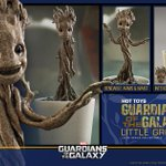 Dammit, @hottoysofficial, the Little Groot is damn near perfect. (available in a few months-ish)