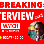Havent been able to see me, yet? Watch my interview on Muvi TV tonight at 20:00. #HH2015 #ZambiaDecides http://t.co/WsBslcExnq