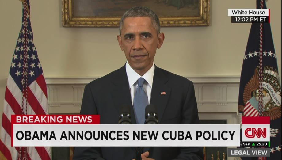 Obama: We will begin to normalize relations with Cuba. Watch live http://t.co/HAhU3MDTUj http://t.co/1dP3LH0QlX