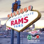 ICYMI: @CSUFootball landed in #Vegas last night, when are you getting there?! #LasVegasBowl #CSURams http://t.co/oYwMrC5a8K