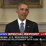 Obama announces that US will end outdated approach to Cuba http://t.co/zbCLPGImu7 http://t.co/OgbMFYXj7Z