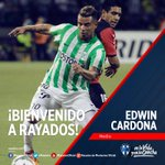¡Bienvenido Edwin Cardona a @Rayados!  #FamiliaRayada #EnLaVidayEnLaCancha http://t.co/i1umJ1r4VA