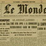 À la Une du Monde daté du 5 janvier 1961, les #EtatsUnis rompent leurs relations diplomatiques avec #Cuba #archives http://t.co/Qu9QmZhyfS