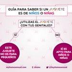 Los juguetes no tienen género... si tienes dudas al comprar uno aquí una guía sencilla ^_^ #QueridoSantaYoQuiero http://t.co/LM5d0IfKtj