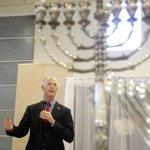 Florida Governor Rick Scott speaks at Chabad of Palm Beach Gardens on Wednesday, the fir... http://t.co/y4GXUWmCen http://t.co/nPkxhAnjLn
