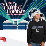 Cute overload as the @VanCanucks cuddle kittens in purr-fect holiday card http://t.co/4kRVZgpYDU http://t.co/M2DvelayIC