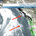 Big storm arrives tmrw night #Vancouver. Strong winds & +20mm. And another storm for the wknd.. http://t.co/EgEGvoH543