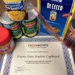 A big thank you to @FresnoStateCGE for the donation of food and $200 to the @Fresno_State @StudentCupboard! http://t.co/rpDvUenuJW
