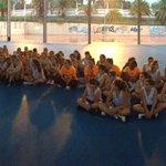 Visita de @AliciaAlvarezSC al @TenerifeCentral de Baloncesto en apoyo al deporte femenino. http://t.co/HvT0pG2OqQ