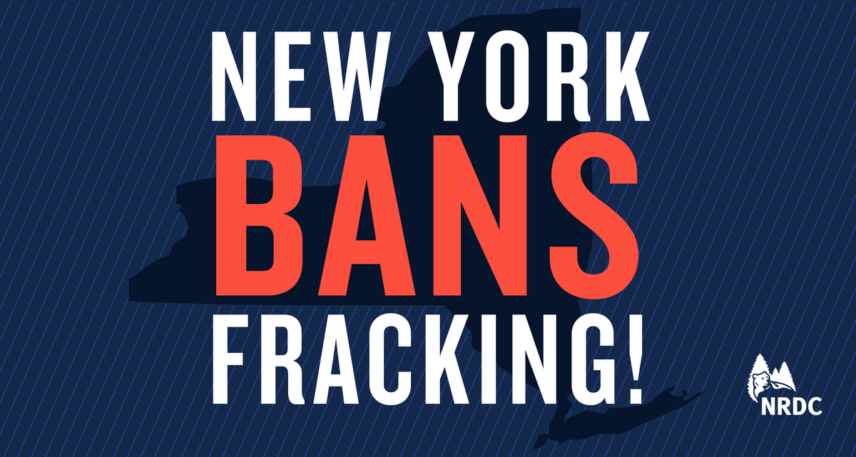 HUGE NEWS! @NYGovCuomo bans #fracking in New York! http://t.co/ihQ8UjQApW http://t.co/ZtJOw0DuFK