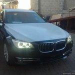 """Security starts with you!"", UK said. So some Kenyan just dropped an armoured 2014 BMW 760Li. Ufukara ni wewe. http://t.co/tscs9Zaz2W"