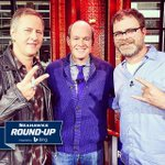 Round-Up: @rainnwilson @AliceInChains Jerry Cantrell talk #Seahawks [http://t.co/hk9WHtIKKw] (pic by @RichEisenShow) http://t.co/gQrmYAZlSe