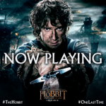 Return with us to Middle-earth #OneLastTime. #TheHobbit is now playing! http://t.co/VwFNSxcfU5 http://t.co/Vi6FYfqQ0D