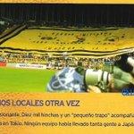 LOCAL EN EL MUNDO ENTERO.... Llevamos mas de 10.000 hinchas a Japón -Vs- Real Madrid. #Boca. http://t.co/mtQoDqn1Pi