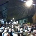 30 mins into the Tottenham v Newcastle game & over 1000 Newcastle fans still waiting to get in.(Via @nufcawaytickets) http://t.co/fViHyXCfWD