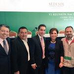 El sector social de Yucatán listo para arrancar desde el primer día con la Mtra @Rosario_Robles_ y el Presidente @EPN http://t.co/3PpKThjUB6