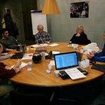 laatste bestuursvergadering van @PVDAEindhoven .de laatste details voor de planning van 2015. active stad, onze stad! http://t.co/49FzzJPTe1