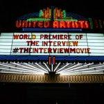 """Sony renonce à la sortie aux Etats-Unis de son film controversé """"Linterview qui tue!"""" http://t.co/EvzQzlQB5p http://t.co/xAbzpeOsdE"""