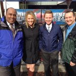 The AM gang at the @CBS47 Collection Drive! Happening Now! JMusgraveNews @AnthonyBaileyTV @RJohnsonTraffic http://t.co/Hjn9H2hcEM