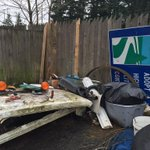 Among items recovered at alleged illegal Everett chop shop: road signs, construction equip from King Co., Bothell. http://t.co/TZNr5wAm96