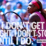 RT @NikeTennis: Train On: @SerenaWilliams