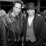 In #Chicago ~ @TheRealDiceClay & @PatrickDempsey ~ Styling & Profiling! Happy Holidays to you both! #ChicagoHistory http://t.co/NrMBcPWt2l