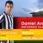 Daniel Arreola se suma a Monarcas Morelia para defender nuestra camiseta http://t.co/U2tgdUoWzN
