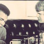 The Champ @MuhammadAli & The Godfather of Sports talk radio @ChetCoppock ~ @Hollywood_Yates @TheRealLailaAli #Chicago http://t.co/LQjxFn8LWO