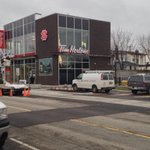 On Ottawa street today. New @TimHortons #1 opens Saturday @CrownPointHub @MGreenWard3 @HamOntNow #HamOnt @petevandyk http://t.co/VTT3gMRfKo