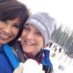 .@lcooney12news and I in the snow! So lucky! Cant wait for #SB49 @12News Special! http://t.co/LzSmi2h1gj
