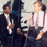 Interviewing the best of the best: @ChetCoppock with Joe DiMaggio, @MagicJohnson @walterpayton & Mike Ditka. #Chicago http://t.co/2SznuYbSHW